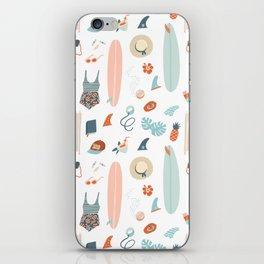 Summer kit iPhone Skin