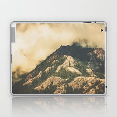 Mountains and Forest - Vintage Mountain Peak Laptop & iPad Skin
