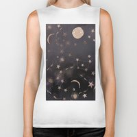 constellations Biker Tanks featuring Constellations  by dreamshade