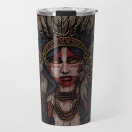 War Paint - Finished Travel Mug