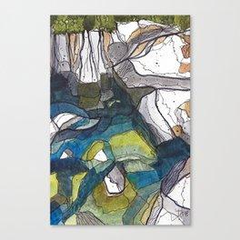 The Swimmin' Hole Canvas Print