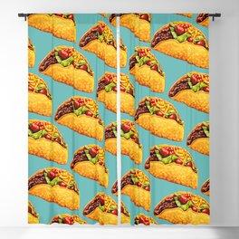 Taco Pattern Blackout Curtain