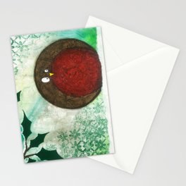 Round Robin - Christmas, Winter, Holidays Stationery Cards