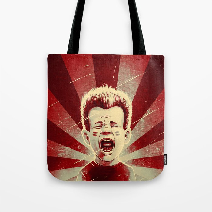 Red Noise Tote Bag