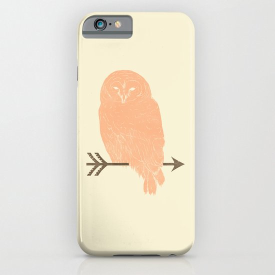 Owl and Arrow iPhone & iPod Case