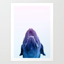 THE DOGUE Art Print