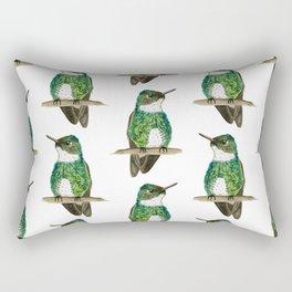 White-throated Hummingbird Rectangular Pillow