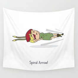 Spiral Arrow Wall Tapestry