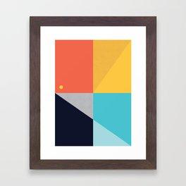 ALBION SUNBELT 2 Framed Art Print