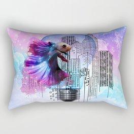 city fish Rectangular Pillow