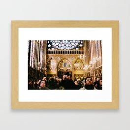 Searching - film Framed Art Print