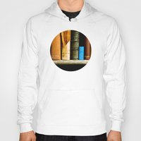 books Hoodies featuring Books  by Loaded Light Photography