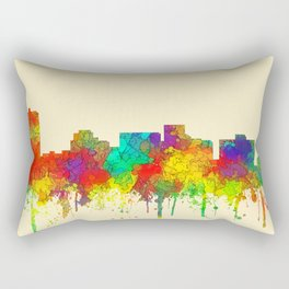 Arlington, Texas Skyline - SG Rectangular Pillow