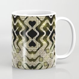 Tribal Gold Glam Coffee Mug