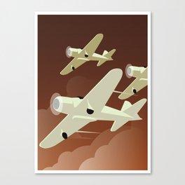 Airplanes Canvas Print