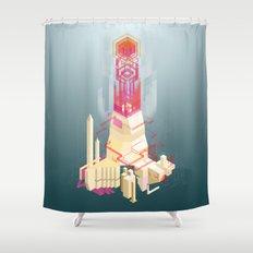 Ludibrium Shower Curtain