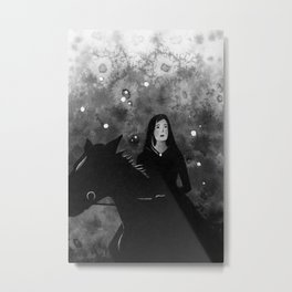 Nearly Starless Night Metal Print