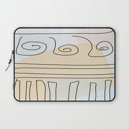 Antique Temple Laptop Sleeve