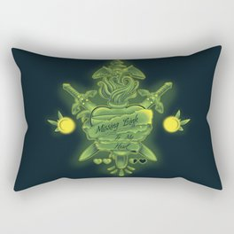 Missing Link To My Heart Rectangular Pillow