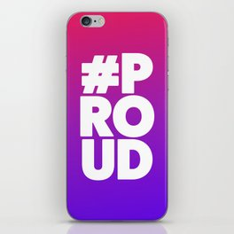 Let'z be #Proud iPhone Skin