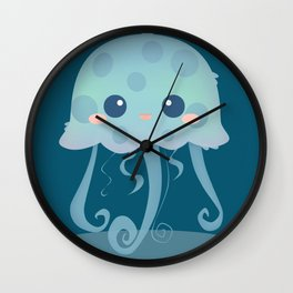 Touch me, I won't hurt you! Wall Clock