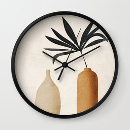 Vase Decoration Wall Clock