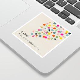 Caos Sticker