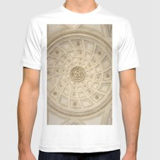 Caserta White Mens Fitted Tee MEDIUM