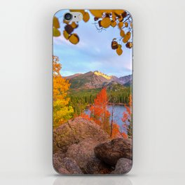 Fall In The Rocky Mountains iPhone Skin