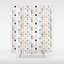 Brain Dots Shower Curtain