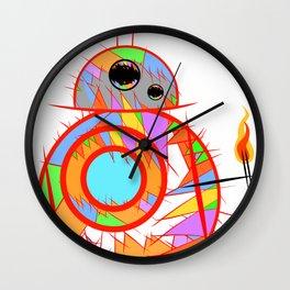 Fan Art BB8 Wall Clock