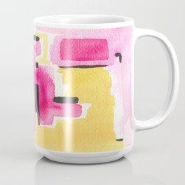 YellowPinkBlack 1 Coffee Mug