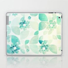 Flowers and Snowflakes Pattern Laptop & iPad Skin