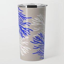 Coral Pattern Travel Mug