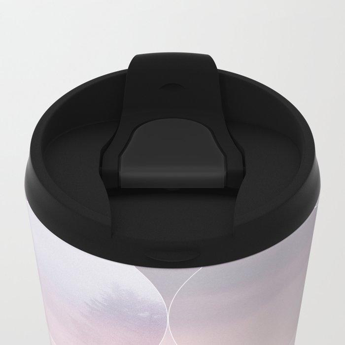 Geometric Vibes 02 Metal Travel Mug