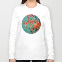 constellation Long Sleeve T-shirts featuring Leaf Constellation by Bella Blue Photography