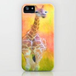 Tall Giraffe Loveliness  iPhone Case