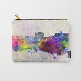 Granada skyline in watercolor background Carry-All Pouch