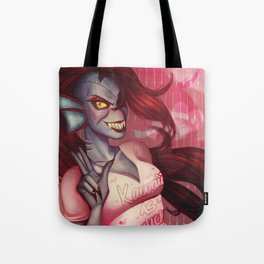 Undyne, the Undying Tote Bag