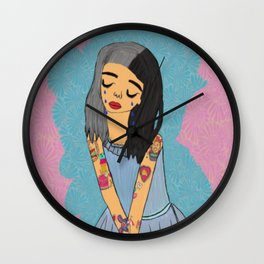 Crybaby Fan Art Wall Clock