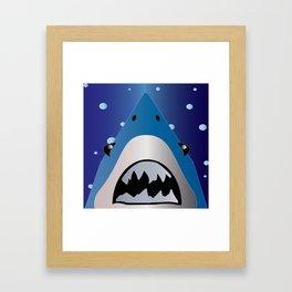 Shark Bait Framed Art Print