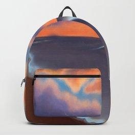 Lavender Beach Sunset Backpack