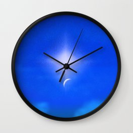 Beautiful New Day in The Heavens Wall Clock