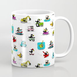 Crow on the Go Coffee Mug