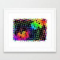 phish Framed Art Prints featuring Colors in the Void by M.D. Becker
