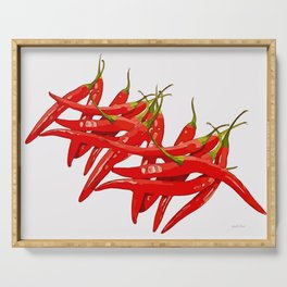 Red Hot Chili Serving Tray