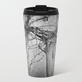 reaching, growing Metal Travel Mug