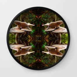 Mushrooms Galore Wall Clock