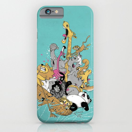Hang On Tight! iPhone & iPod Case