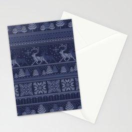 Christmas pattern Stationery Cards